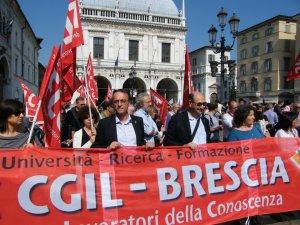Brescia 28 maggio 2012 La delegazione nazionale Pantaleo